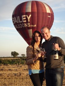 Engaged Couple Bailey Balloons