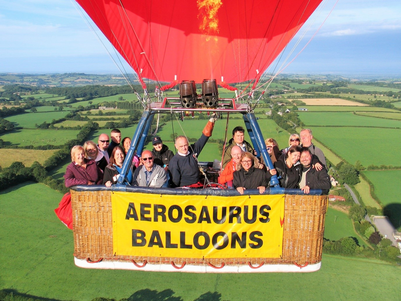 south west hot air balloon ride