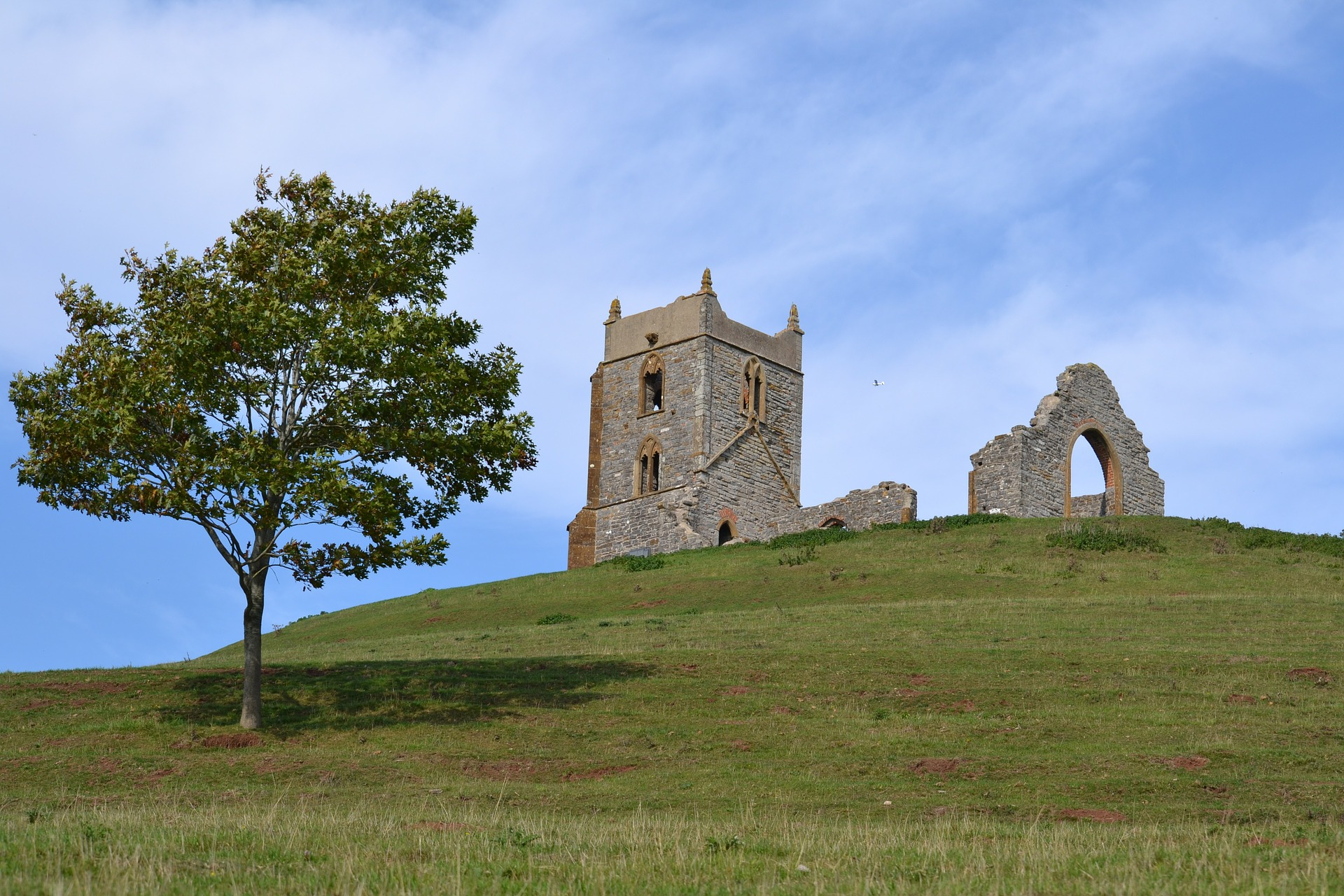 Burrow Mump in Somerset