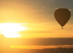 Sunset Balloon Flight