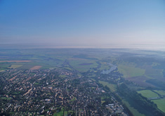 Dorset from the sky