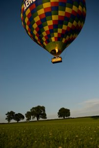 Hot Air Balloon in Tiverton Devon