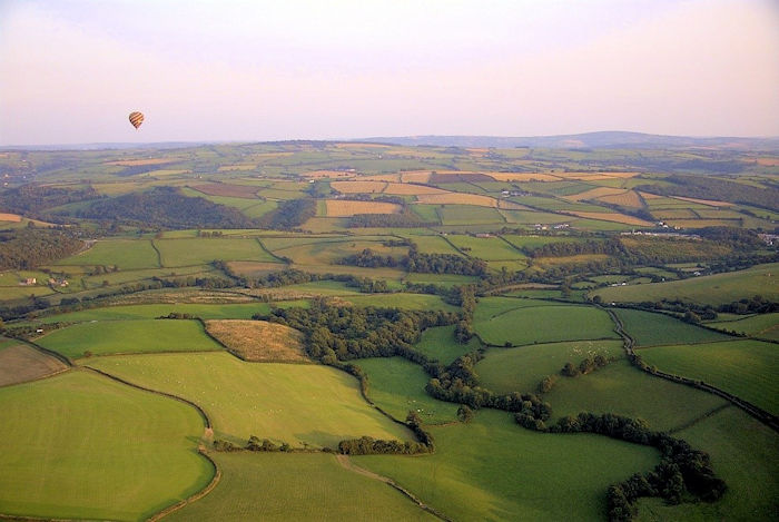 Ballooning Over Cornwall