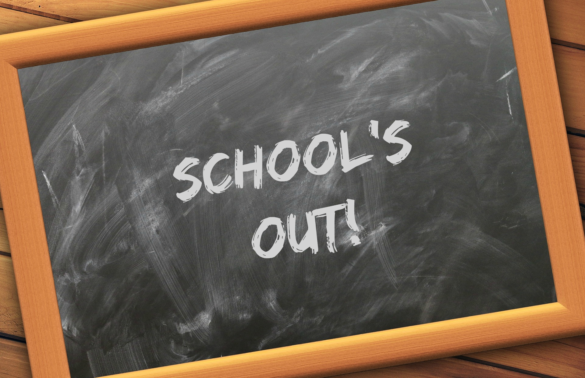 school's out message